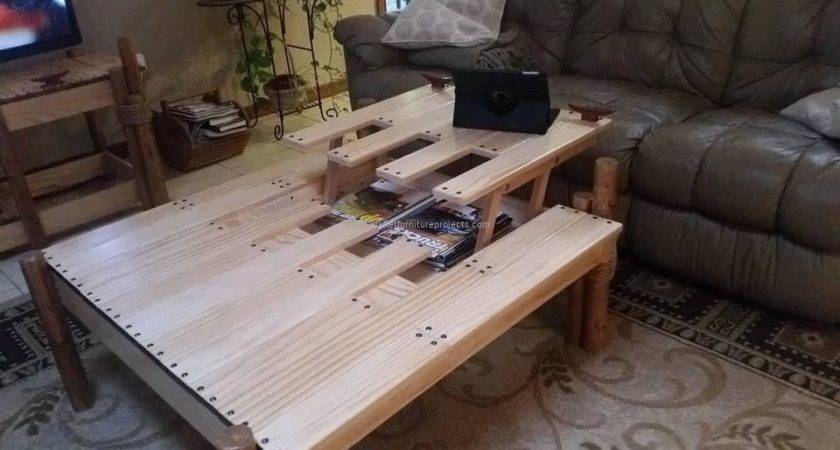 Unique Pallet Table Idea Furniture Projects