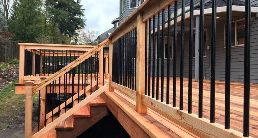 Unique Pre Assembled Deck Steps Support Idea