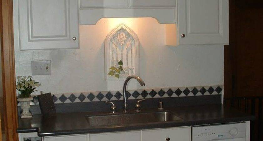 Unusual Decorate Above Kitchen Sink Window