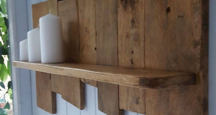 Upcycled Pallet Wood Shelf Ideas Recycled