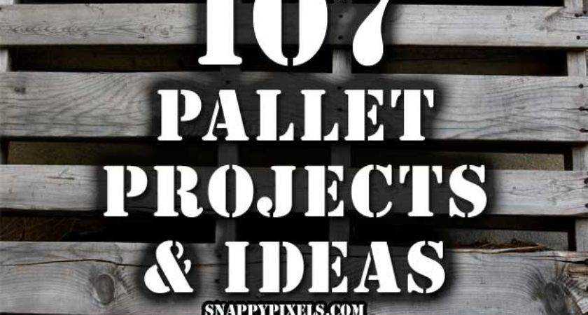 Used Wood Pallet Projects Ideas Snappy Pixels