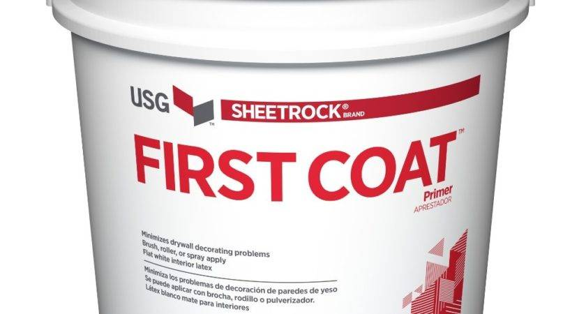 Usg Sheetrock Brand First Coat Primer