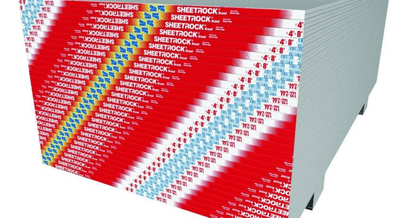Usg Sheetrock Brand Gypsum Panels