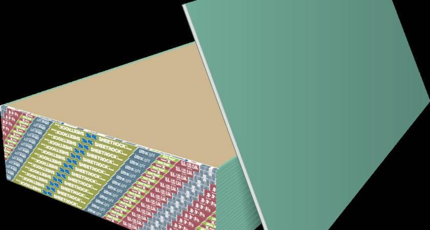 Usg Sheetrock Brand Ultralight Panels Mold Tough