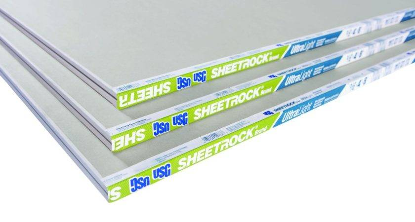 Usg Sheetrock Brand Ultralight Panels
