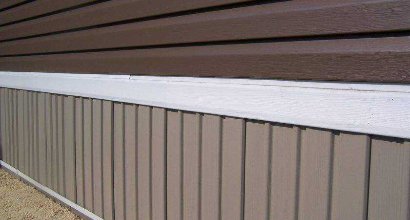 Vanguard Rail Vinyl Skirting Mobile Homes Winnipeg