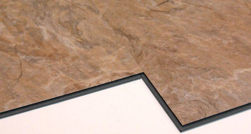Versaclic Sahara Slate Floating Vinyl Tile