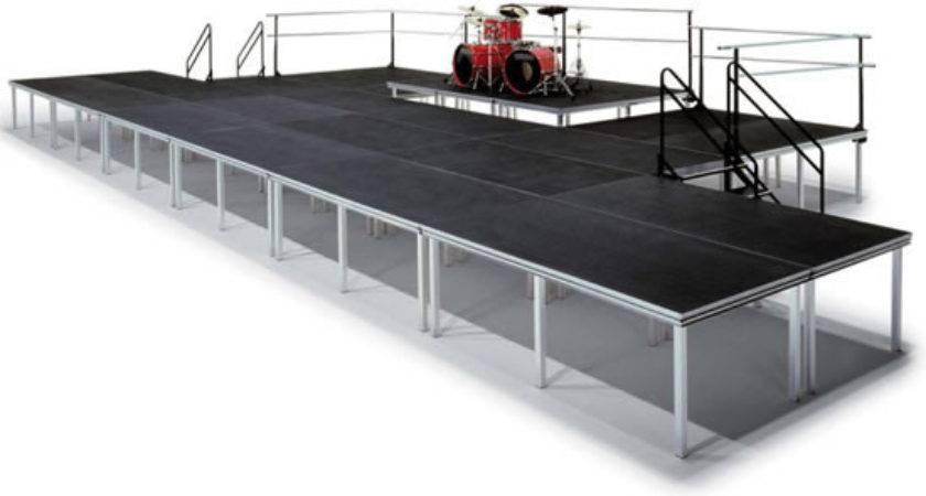 Versalite Portable Stage Platform System Black Cat Music
