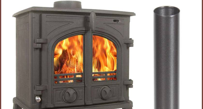 Victoria Log Burner Multifuel Wood Burning Stove Cast