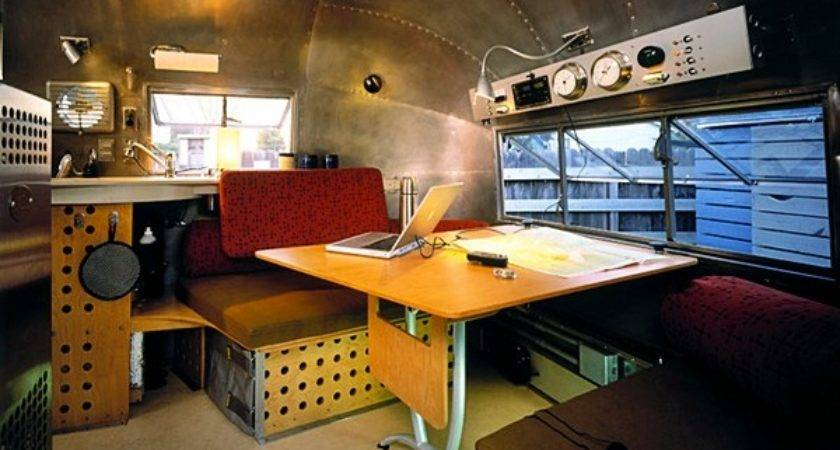 Vintage Airstream Trailers Brought Back Glory
