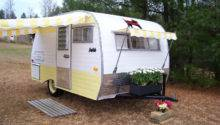 Vintage Camper Awning Sew Country Awnings