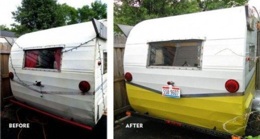 Vintage Camper Exterior Paint Options Painting Your