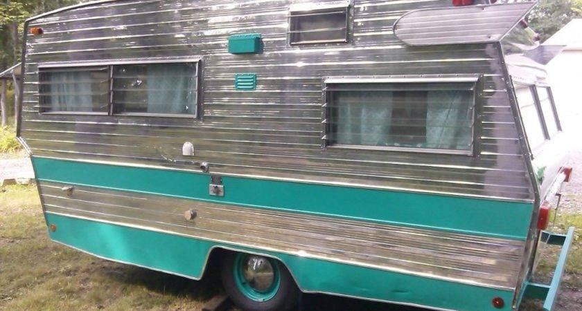 Vintage Camper Shasta Lowflyte Glamper Ebay