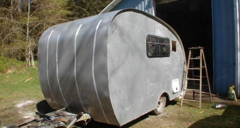 Vintage Camper Siding Installation Cool Mccool Garage