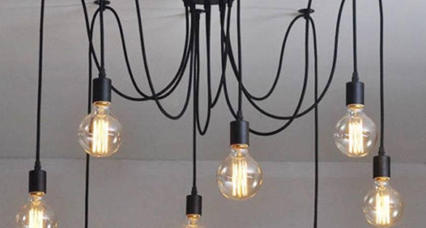 Vintage Industrial Adjustable Diy Retro Pendant Light