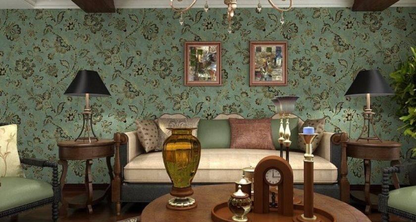 Vintage Living Room Retro