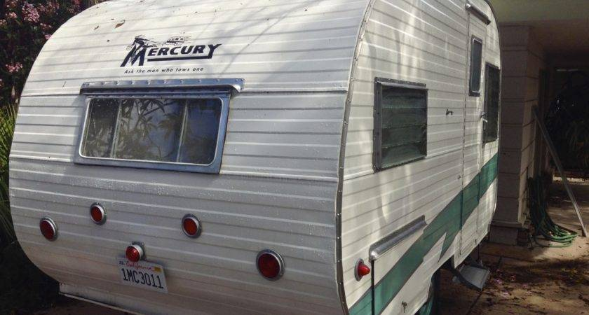 Vintage Mercury Travel Trailer Restoration