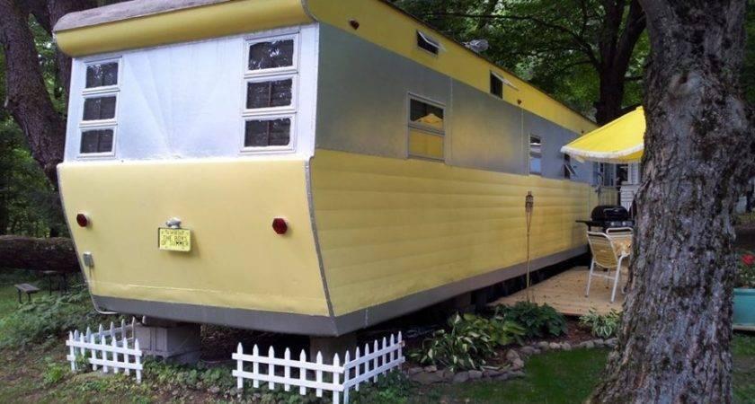 Vintage Mobile Home Restoration Sensational Smoker