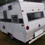 Vintage Shasta Camper Restoration Project Solid Frame