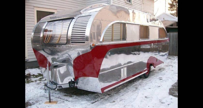 Vintage Trailer Restoration Aero Flite Camping Tra