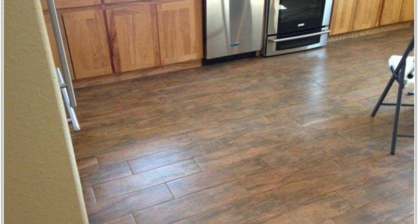 Vinyl Flooring Looks Like Tile Tiles Home Decorating