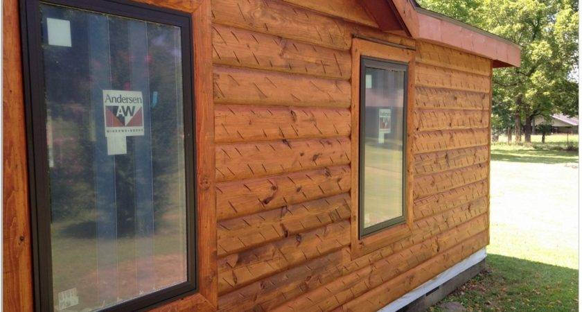 Vinyl Log Siding Houses Roof