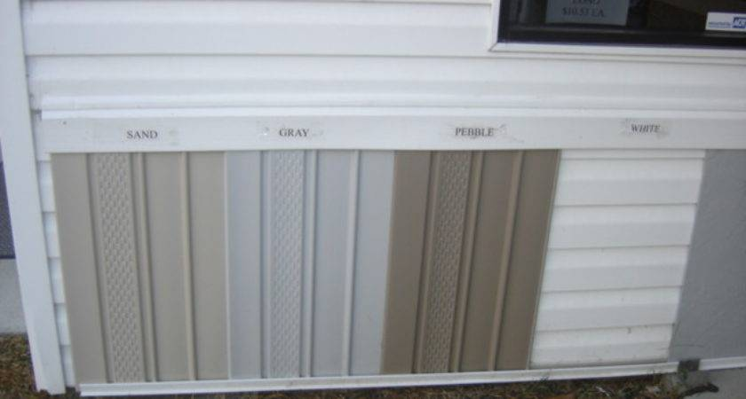 Vinyl Skirting Vented Unvented Tan Gray Clay White Trimkit
