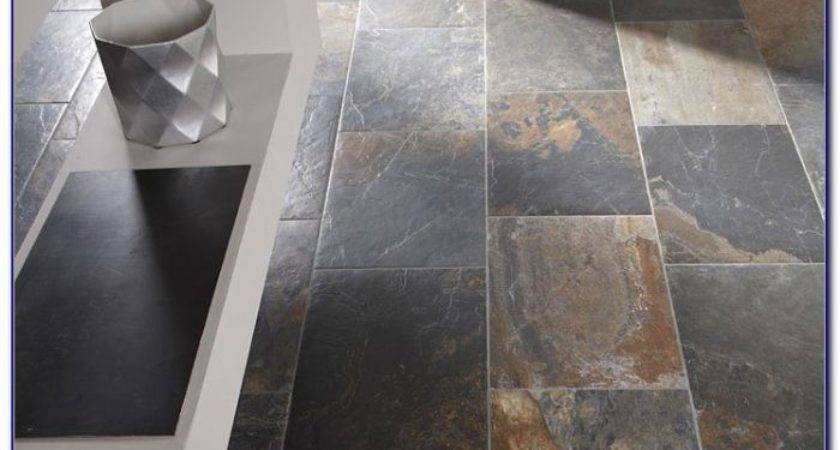Vinyl Tile Looks Like Slate Tiles Home Design