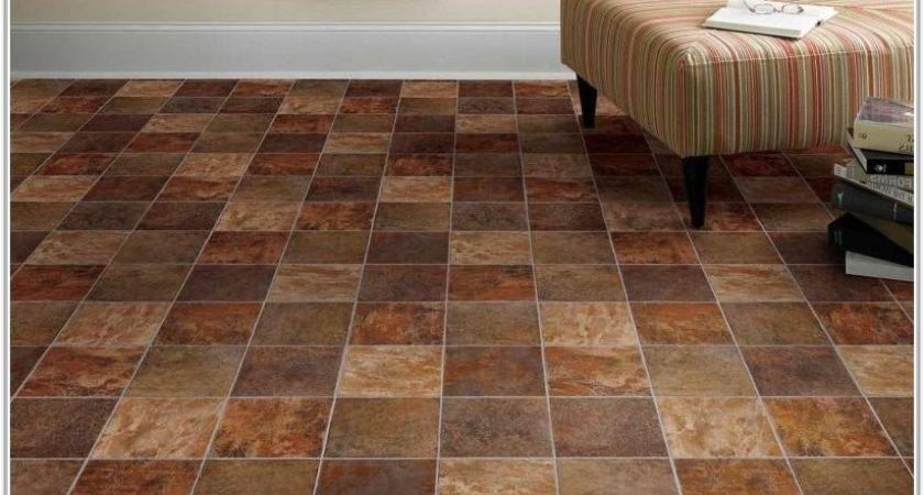 Vinyl Tile Looks Like Stone Tiles Home Decorating