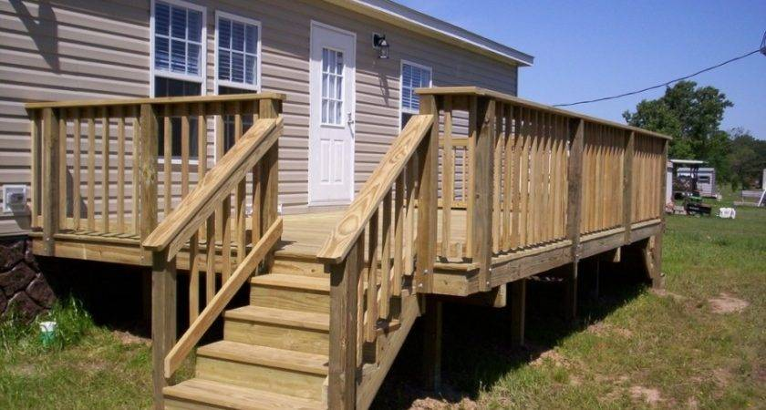 Vinyl Wood Mobile Home Steps Staircase