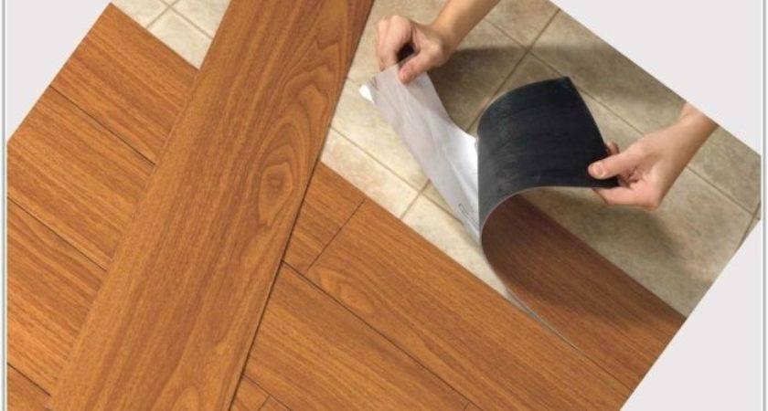 Vinyl Wood Plank Flooring Bathroom Home