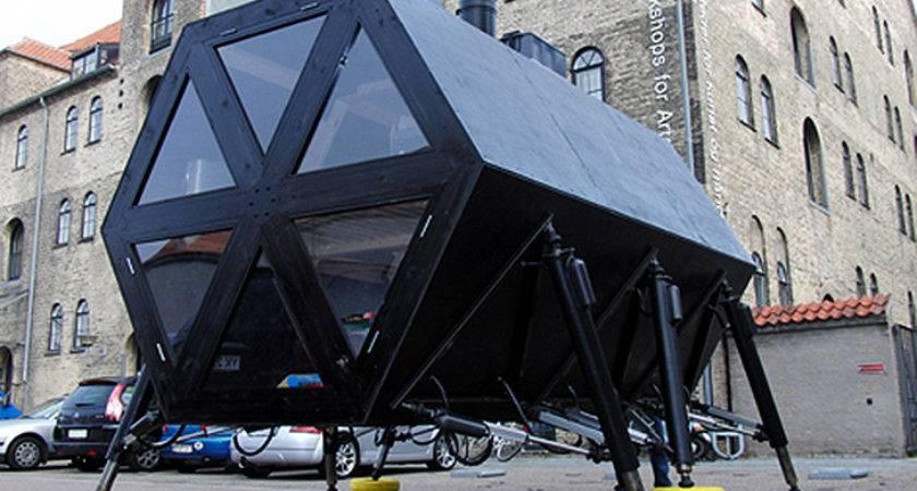 Walking House Modular Self Sufficient Dwelling