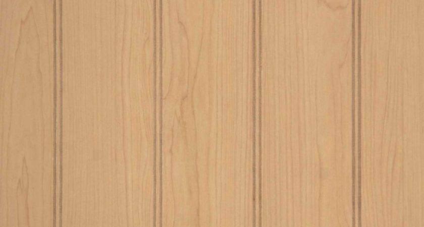 Wall Paneling Wide Beadboard Ultra Maple