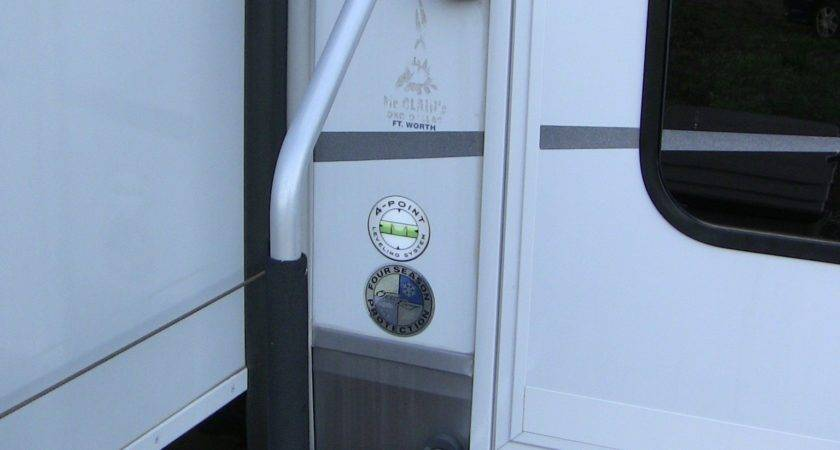 Way Handle Steps Fifth Wheel Pictorial Guide
