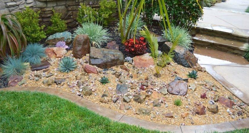 Weekend Project New Rock Garden