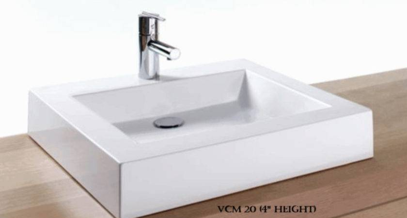 Wetstyle Wet Above Counter Semi Recessed Basin Vcm