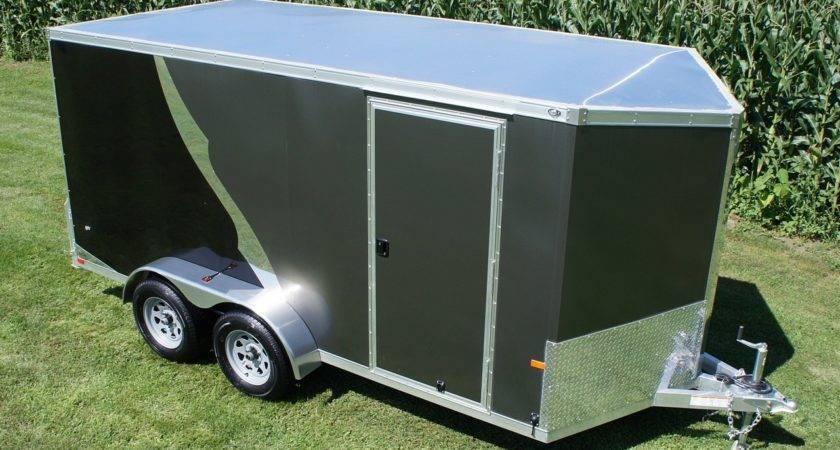 Wide Aluminum Cargo Trailer Pro Pkg Becker Custom Trailers