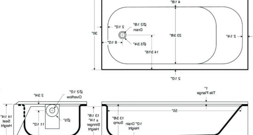 Wide Standard Bathtub Tractorforks Info