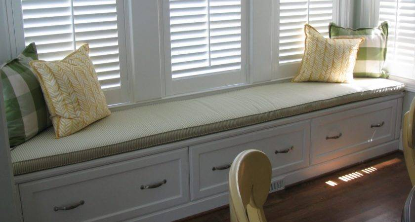 Window Seat Cushions Casual Cottage