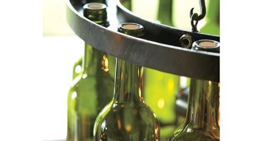 Wine Bottle Chandelier Pottery Barn