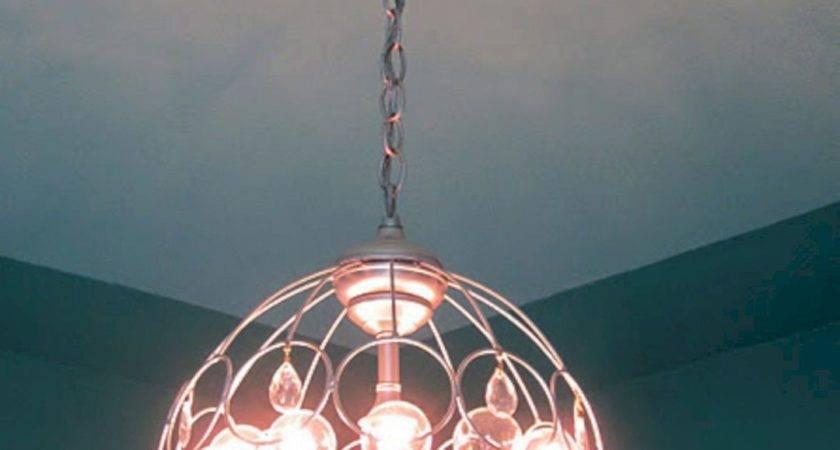 Wire Egg Basket Lights Fixture
