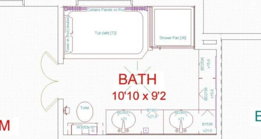 Wonderful Master Bath House Plans