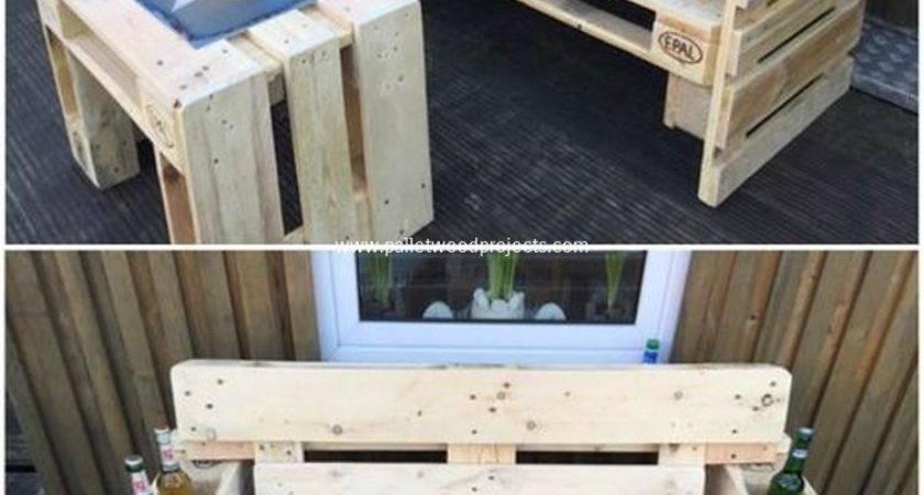 Wonderful Pallet Wood Furniture Ideas Easy