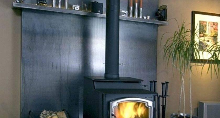 Wood Burning Stove Wall Protection April Piluso