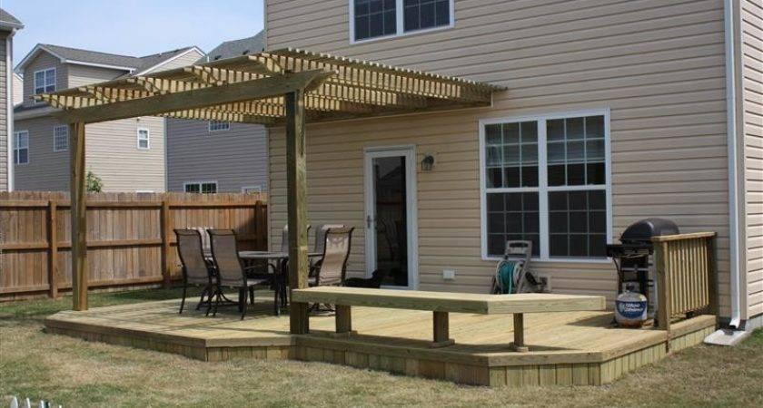 Wood Deck Wooden Decks Chesapeake Acdecks