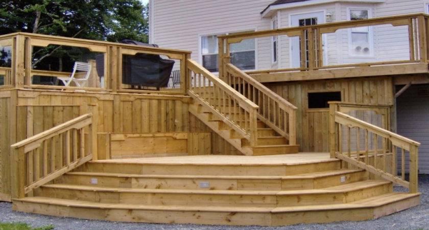 Wood Decks Designs Lighting Furniture Design
