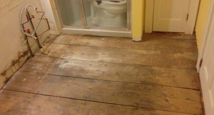 Wood Floor Bathroom Flooring Contractor Talk