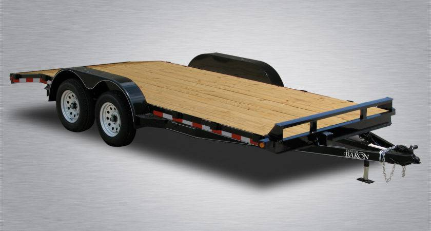 Wood Floor Car Haulers Trailer Baron