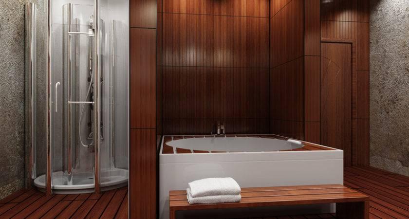 Wood Flooring Bathroom Good Idea Coswick