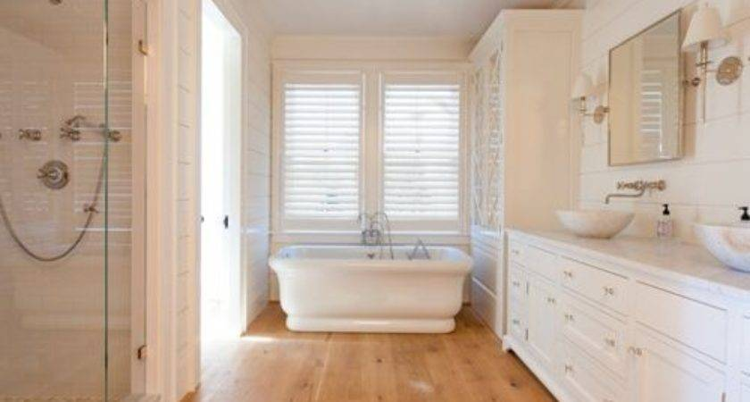 Wood Flooring Bathroom Houzz